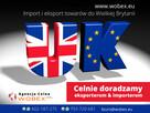 Agencja celna - Import-eksport Wielka Brytania