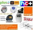 Montaż i ustawianie anten satelitarnych, telewizyjnych DVB-T
