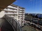 Montaż siatki na balkon przeciw gołębiom dla kota - 12