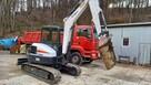 Bobcat E55 5700kg 1700mth szybkozłącze koparka gąsienicowa