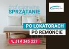 Profesjonalne sprzątanie mieszkań i domów po remoncie