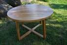 stół przesuwny drewniany