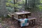 Stół + 2 ławki