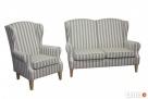 sprzedam zestaw sofe+fotel+podnozek - 2