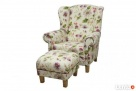 sprzedam zestaw sofe+fotel+podnozek - 4