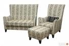 sprzedam zestaw sofe+fotel+podnozek - 7