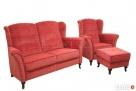 sprzedam fotel uszak ,podnozek i sofe - 1