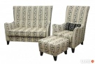 sprzedam fotel uszak ,podnozek i sofe - 8
