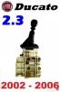 Lewarek gałka zmiany biegów wybierak FIAT DUCATO 2.3JTD 02- - 1