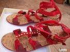 Sandały Bata rozmiar 38, czerwone - 2