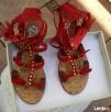 Sandały Bata rozmiar 38, czerwone - 3