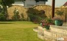 elewacja z kamienia, ogrodzenie z piaskowca,kamieniarstwo Pruszków
