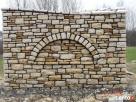 elewacja z kamienia, ogrodzenie z piaskowca,kamieniarstwo - 5