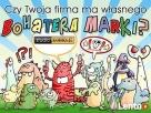 komiks reklamowy, logo, ilustracja z brand hero, rekama web - 2