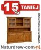 Duży drewniany Kredens,Witryna 15 od PRODUCENTA -Promocja Katowice