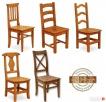 Nowe Drewniane Krzesła,postarzane od PRODUCENTA - Nowość Katowice
