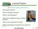 Szkolenie Lockout - Tagout Chynów