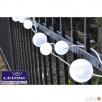 Ogrodowe kule LED do podświetlenia ogrodów - SZNUR 40szt Gierałtowice