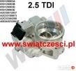 Przepustnica Vw Passat Audi A4 A6 SuperB 2.5 TDI A2C53100873 Bydgoszcz