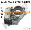 Przepustnica Audi A4 A5 A6 A8 Q5 Q7 2.7TDI 3.0TDI 4E0145950H - 1