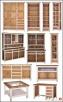 Nowe Drewniane Łóżka Modena 90,120,140,160,180,200 od  - 6