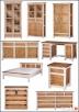 Nowe Drewniane Łóżka Modena 90,120,140,160,180,200 od  - 5