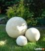 Sprzedam kule ogrodowe, ceramiczne, mrozoodporne 40,28,16 cm - 1