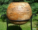 Sprzedam kule ogrodowe, ceramiczne, mrozoodporne 40,28,16 cm - 5