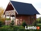 domek wolno stojący nad stawem w spokojnej okolicy Sierakowice