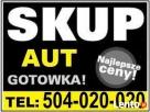 SKUP AUT POWYPADKOWYCH POZNAŃ I WLKP 0504-020-020 GOTÓWKA OD Poznań
