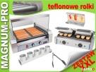 Zestaw XXL Teflon HOT-DOG podgrzewacz + grill + akcesoria