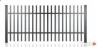 Ogrodzenie przęsło model STANDARD, hit! S-09 profil 40x20 Gorlice