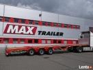 Naczepy niskopodwoziowe MAX Trailer.