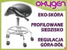 Hoker krzesło siodłowe kosmetyczne obrotowe Poczesna