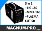 Wielofunkcyjna spawarka TIG 180 MMA 165 PLAZMA 50