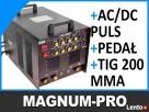 Spawarka Z PULSEM TIG AC DC 200A HF do aluminium
