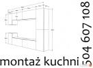 Montaż kuchni, mebli, AGD, kompleksowo