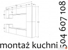 Montaż kuchni, mebli, AGD, kompleksowo Katowice
