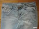 Rybaczki bermudy spodenki jeans strecz