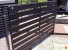 Przęsło ogrodzeniowe P12b ceownik 70x10 ocynk+kolor - 4