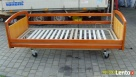 Łóżko Rehabilitacyjne Elektryczne Regulacja Materace Tapczan Woźniki