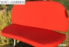 Poduszka na ławkę, huśtawkę nowa, ceglasta Niemiecka jakość. Gaszowice