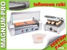 Teflonowy zestaw do hot dogów BASIC grill+podgrzewacz