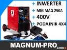 Spawarka półautomat migomat 250A 4x4 MIG MAG