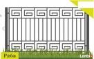 Ogrodzenia,przęsło ogrodzeniowe 120x200 cm P-26a