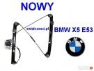 Mechanizm, podnośnik szyby przód prawy, lewy BMW X5 E53