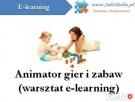 SZKOLENIE ZAWODOWE – Animator gier i zabaw Tomaszów Mazowiecki