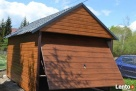 Garaż blaszany jak drewniany złoty dąb lub orzech!