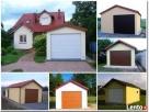 Garaż blaszany tynkowany z dachem dwuspadowym - 1