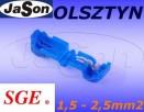 ZESTAW Szybkozłączka+Konektor Typ T 1,5-2,5mm SGE - 2